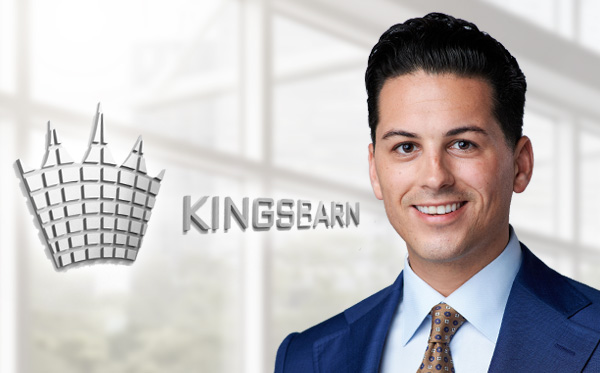 Kingsbarn Promotes Louie Goros to Managing Director & Head of Distribution